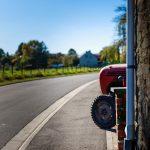 wandeling tractor
